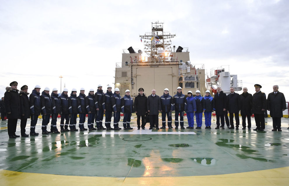World's largest diesel-electric icebreaker enters service in Russia