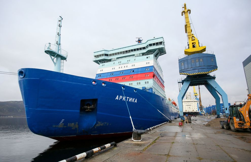 Icebreaker Arktika sails Northern Sea Route for first time