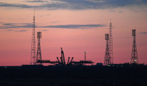 На Байконур доставлен космический аппарат «Арктика-М» для прохождения предпусковой подготовки
