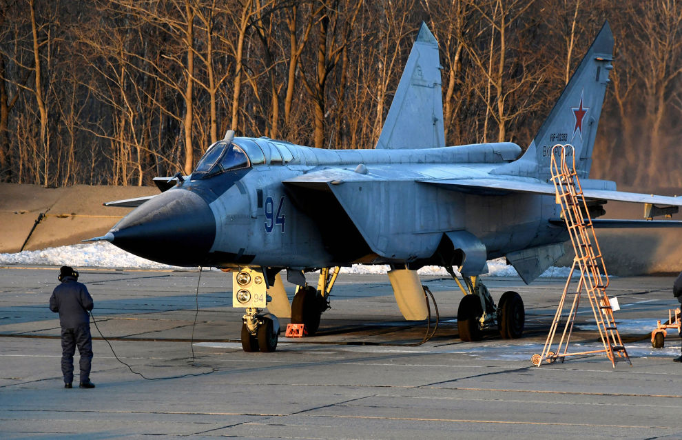 MiG-31BM fighters get up-to-date Arctic navigational equipment