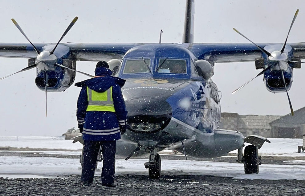 First flights begin to count the polar bearpopulation