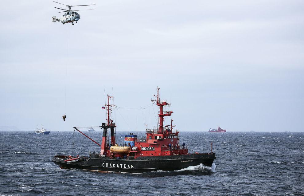 Российские военные осенью проведут стратегическое учение в Арктике