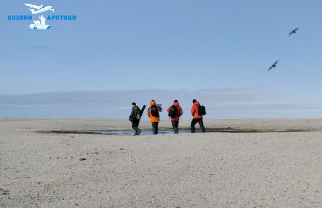 Work during the second stage of the Master of the Arctic 2021 project