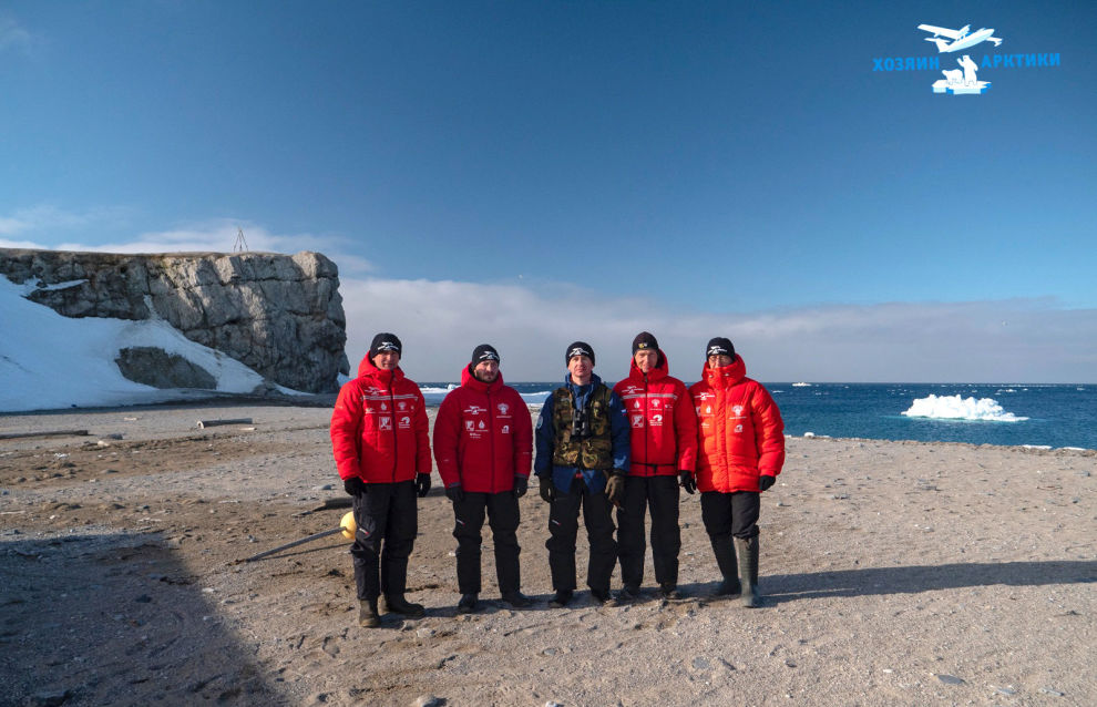 The second stage of the Master of the Arctic 2021 project