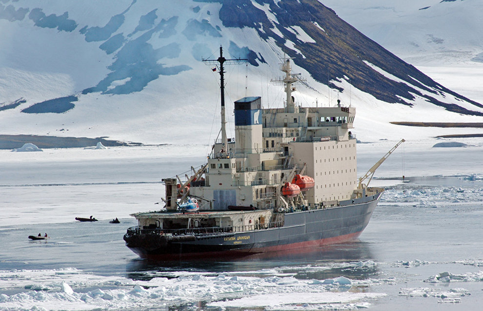 The icebreaker Kapitan Dranitsyn
