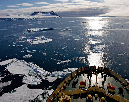 The icebreaker Kapitan Dranitsyn