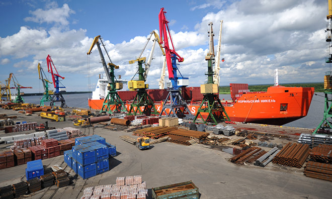 Expansion of the Arkhangelsk port to promote Arctic tourism