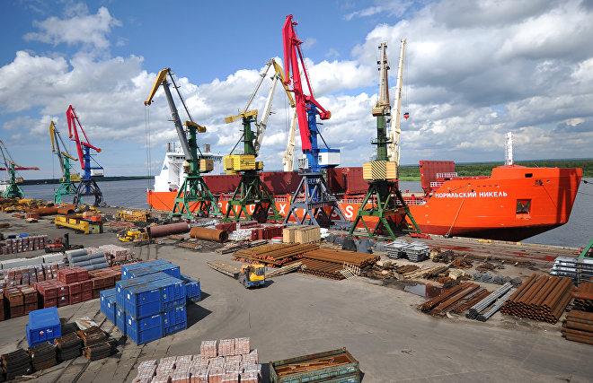 Архангельский морской порт