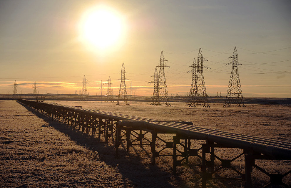 The Bovanenkovo oil and gas field in Yamal