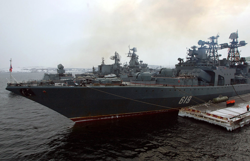 Northern Fleet to hold important Arctic exercises in 2015