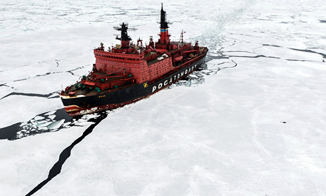 Yamal icebreaker