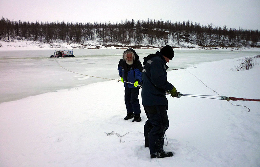 The Mysteries of the Taimyr cross-country expedition