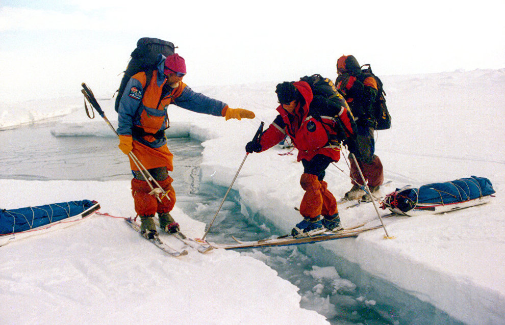 Scientists discuss program for North Pole 2020 expedition