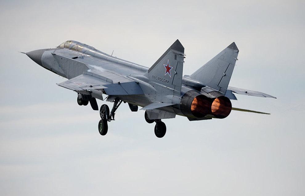 MiG 31 fighter
