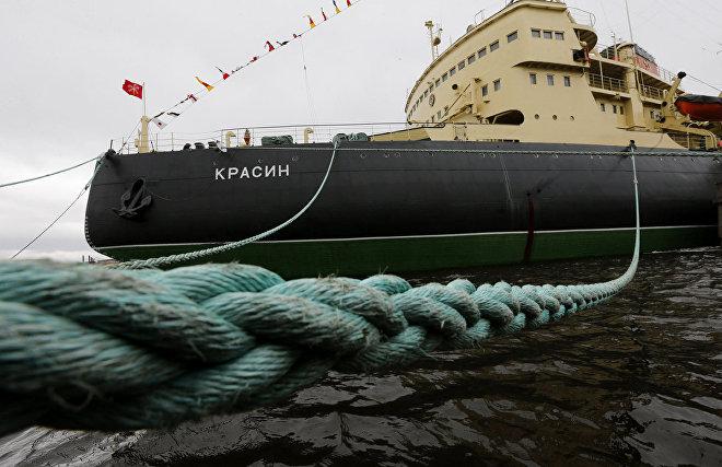 The icebreaker Krasin