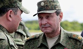 Заместитель министра обороны генерал армии Дмитрий Булгаков