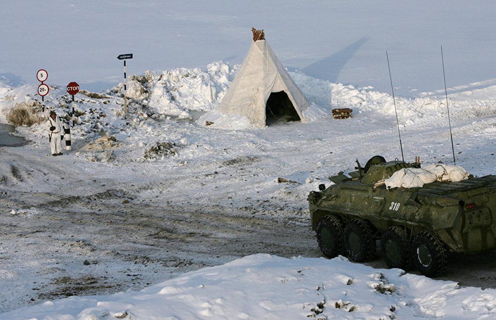 Более 400 контрактников пройдут военную службу на Новой Земле