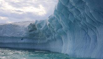 Ледник острова Торупа (Земля Франца-Иосифа)