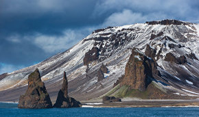 Cape Tegethoff on Hall Island, Franz Josef Land