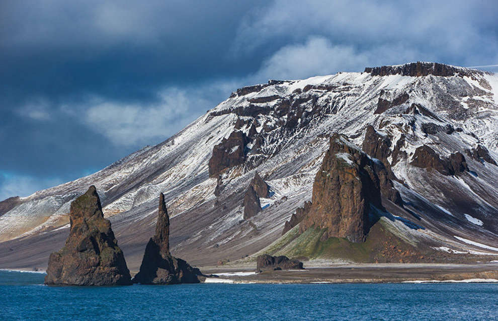 Cape Tegethoff on Hall Island, Franz Josef Land