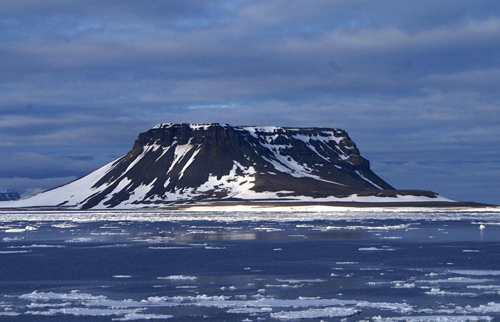 Nightingale Strait, Franz Josef Land