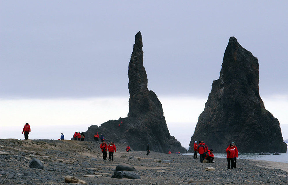 Cape Tegethoff, Franz Josef Land