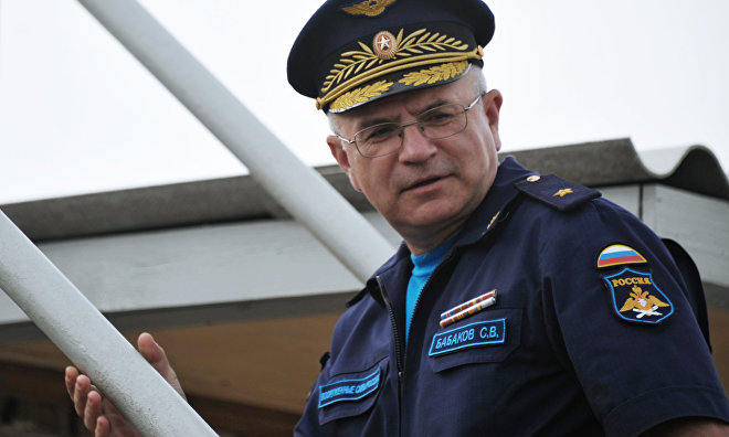 Major General Sergei Babakov