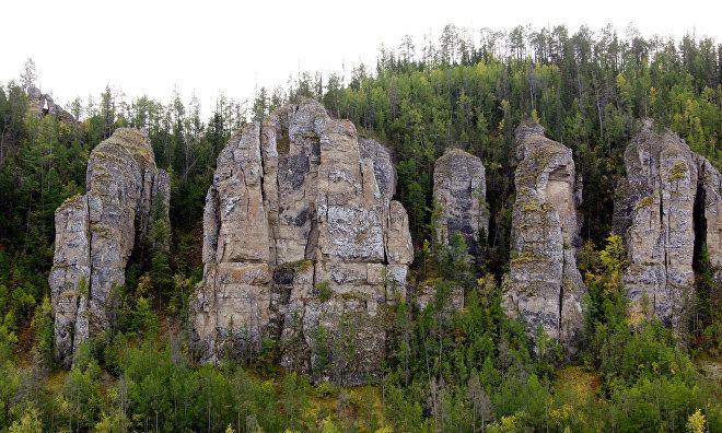 Yakutia's Sinyaya Pillars recognized by UNESCO