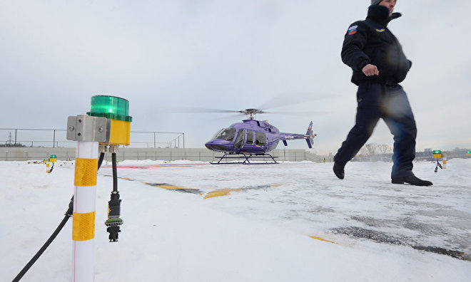 Emergencies Ministry to create helipads at all Arctic rescue centers