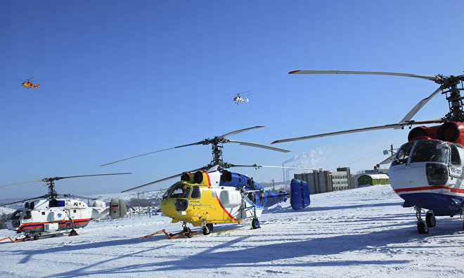 Russia to expand Arctic helicopter deployment area