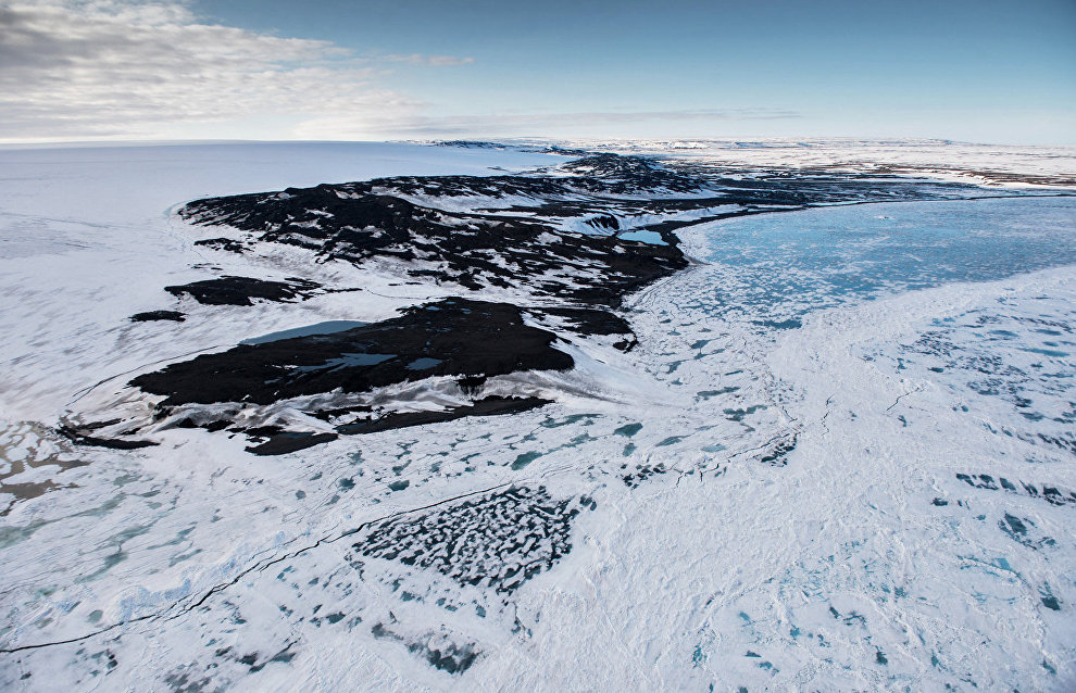 В России создали плавающий вездеход для Арктики
