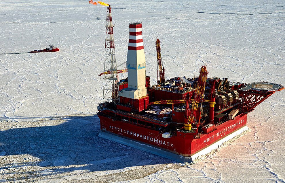 Russia to build new platform for Arctic shelf