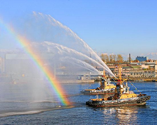 Фестиваль ледоколов в Санкт-Петербурге