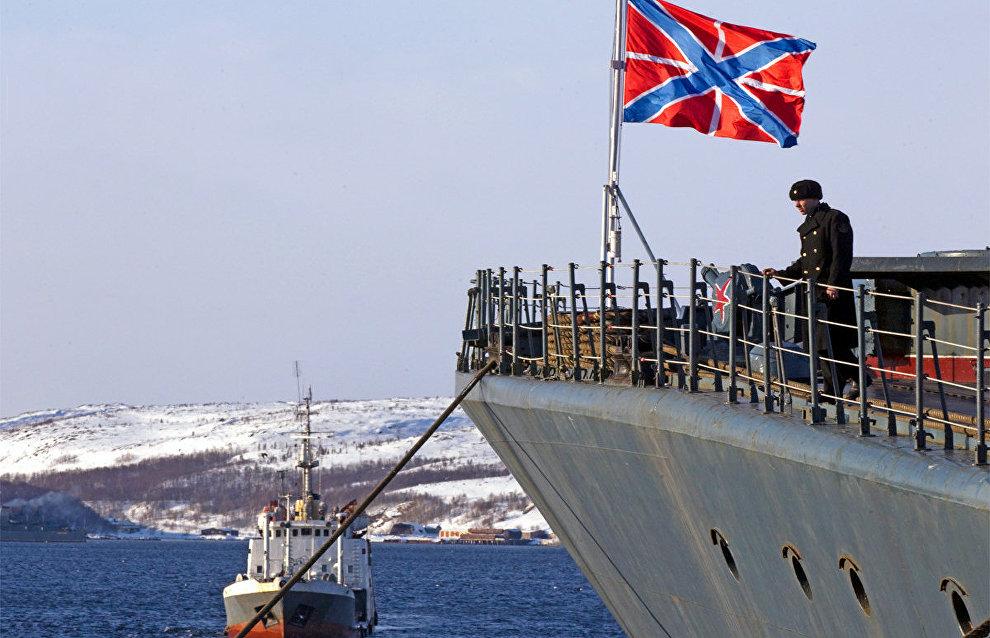 Northern Fleet drills off Taimyr completed
