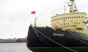 The icebreaker Krasin