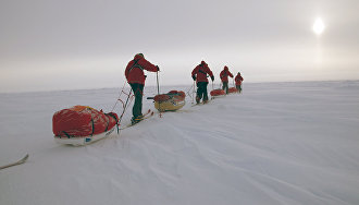 """""""Skiing to the North Pole"""""""