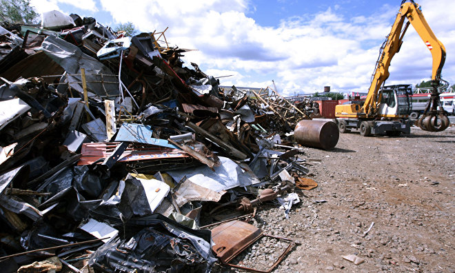 Naval eco-platoon collects over 50 tons of scrap metal on Kotelny Island