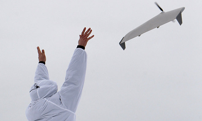 Military drones to patrol Russian Arctic