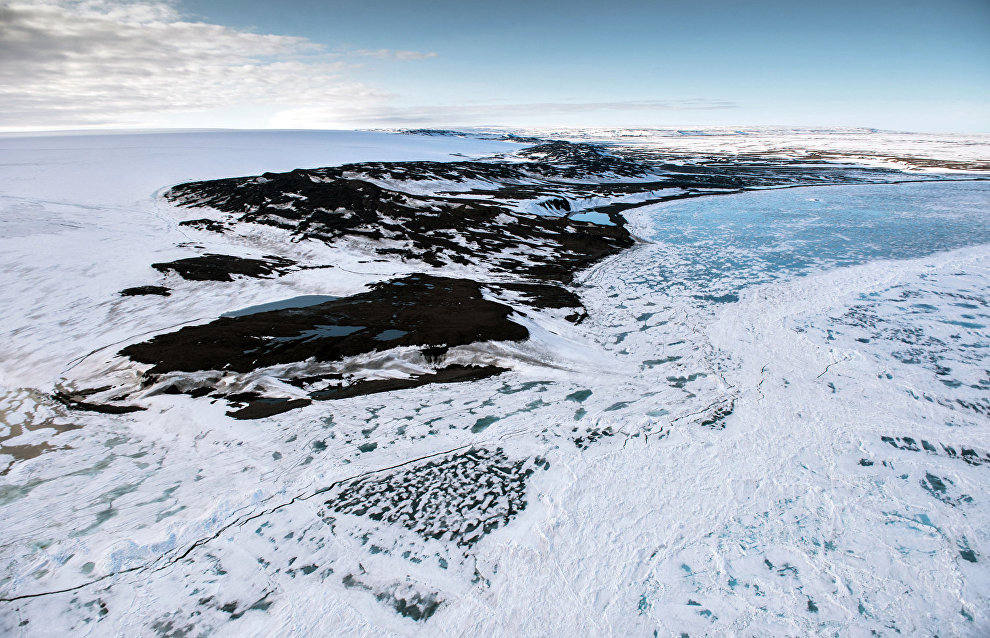 Наблюдения на дрейфующей станции «Северный полюс – 2015» подтвердили потепление климата в Арктике