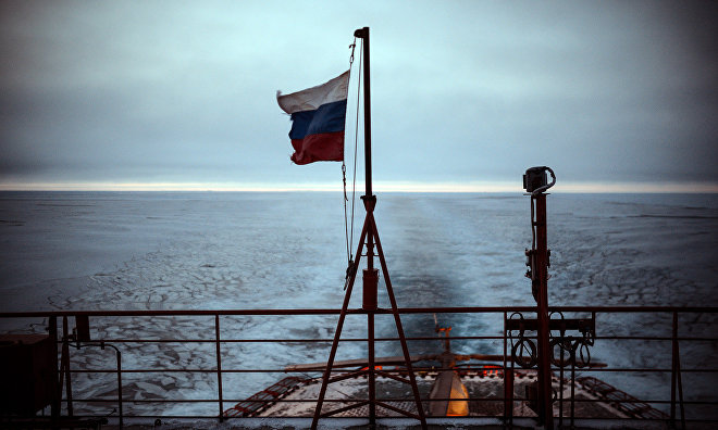Russia's surface vessel reaches North Pole for hundredth time