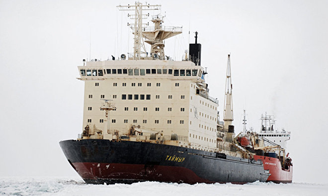 Northern Sea Route freight traffic decreased six-fold in 2015