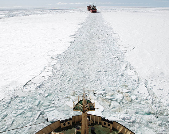 The Northern Sea Route, a path through the ice