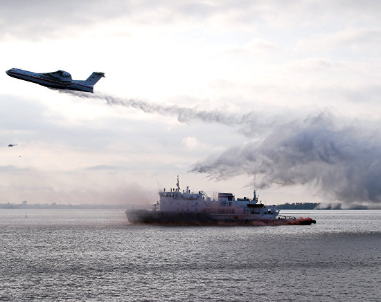 Emergency Situations Ministry holds Arctic drills