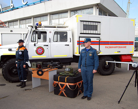 Emergency Situations Ministry exhibits Arctic rescue equipment