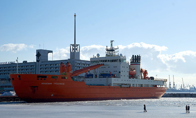 Russian-US expedition completes work at 34 oceanographic stations in Arctic Ocean