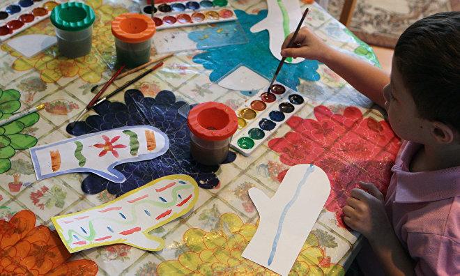 'Nomadic' kindergarten opens in the Kharampurovskaya tundra