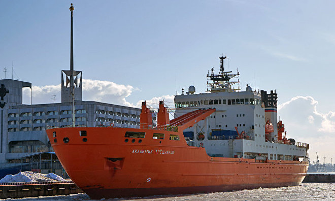 Russian-US climate change expedition in the Arctic completed