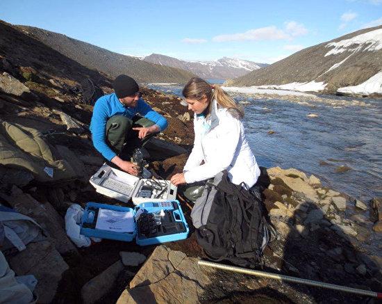 Hydrochemistry studies on the Brydebekken Stream