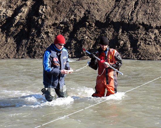 Water flow measurements