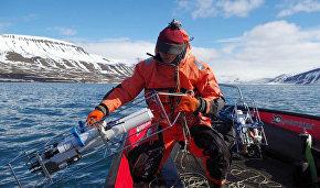 Океанологические исследования во фьорде